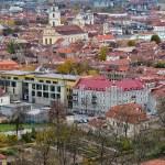 Vilnius view from Three Crosses Monument