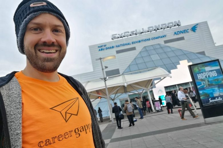 Arriving at the Excel Exhibition Centre on the first day of WTM London 2018