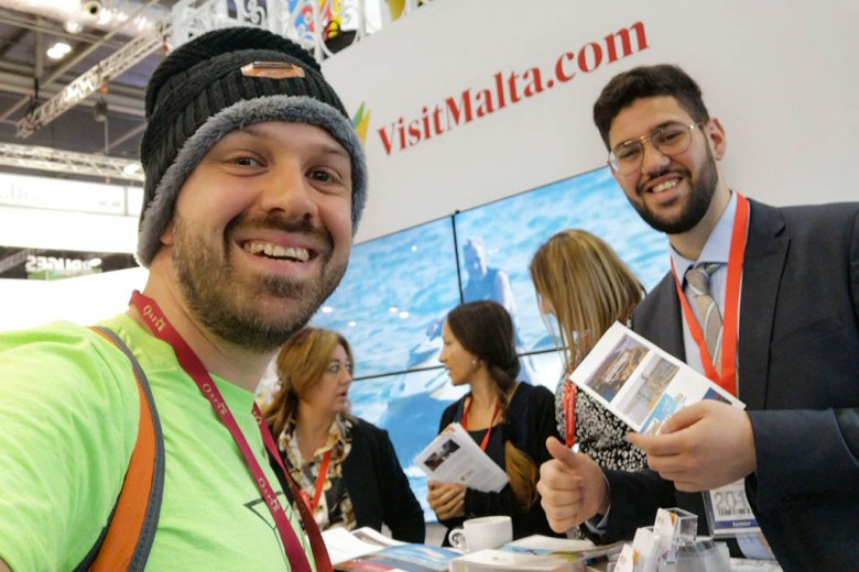 We're visiting Malta in January, so I took the chance to connect with the tourist board at WTM London