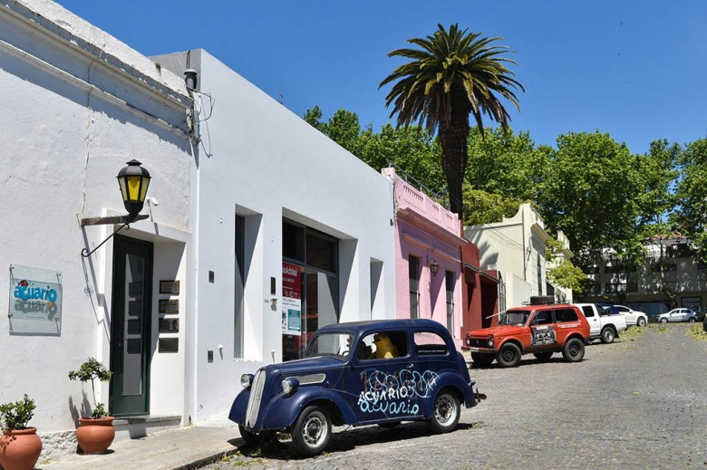 Colonia del Sacramento in Uruguay is a short ferry ride across the river from Buenos Aires