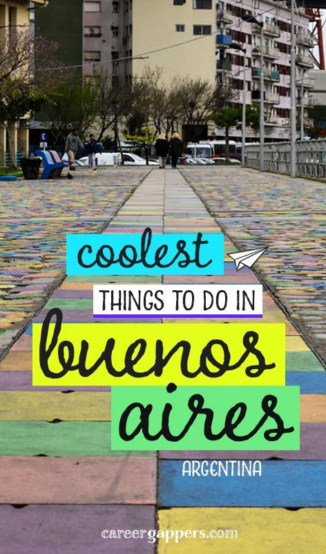 Argentina's exuberant capital city has something fun for everyone. We've compiled some of the coolest things to do in Buenos Aires to help plan your trip. #buenosaires #argentina #southamerica #cities #careerbreak