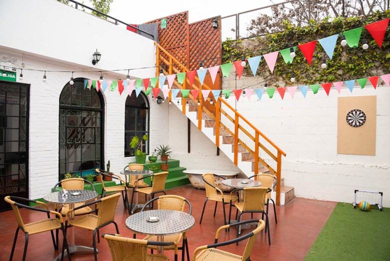 Dragonfly's Barranco hostel has an on-site brewery and great ocean views