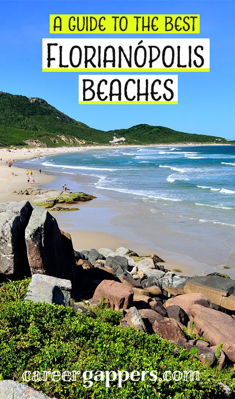 A compilation of the best Florianópolis beaches, from the busiest tourist spots to secluded stretches of sand that can only be reached by hiking. #beaches #brazilbeaches #brazil #florianopolis
