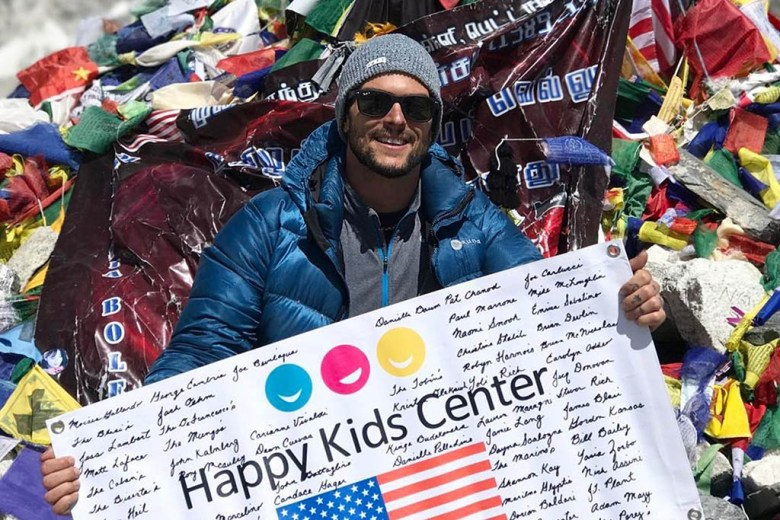 Mike volunteered with the Happy Kids Center in Nepal during his travel career break