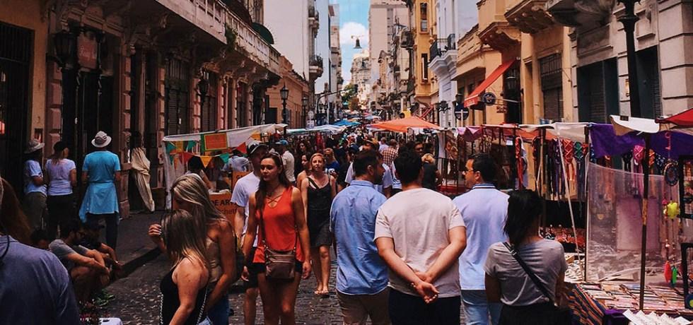San Telmo Sunday Market Defensa