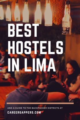 A simple guide to the best hostels in Lima and the city's popular backpacker districts. Includes price, location, facilities, how to book and more. Plan your trip and find where to stay in Lima. #lima #limahostels #limadistricts #limaperu #limatravel