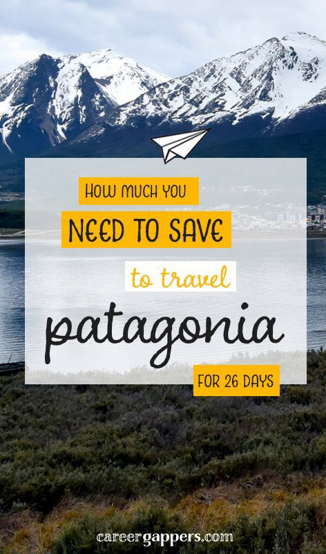 Patagonia (Chile and Argentina), South America has to be on everyone's bucketlist. Find out how much it costs to travel to the end of the world. We kept track of everything we spent over 26 days of hiking, camping and sightseeing. #traveltips #travelmoney #budgeting #patagonia #southamericatravel #travelbudget