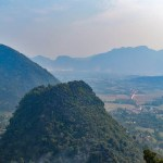 Pha Ngeun is the best Vang Vieng hiking trail for viewpoints of the surrounding landscape