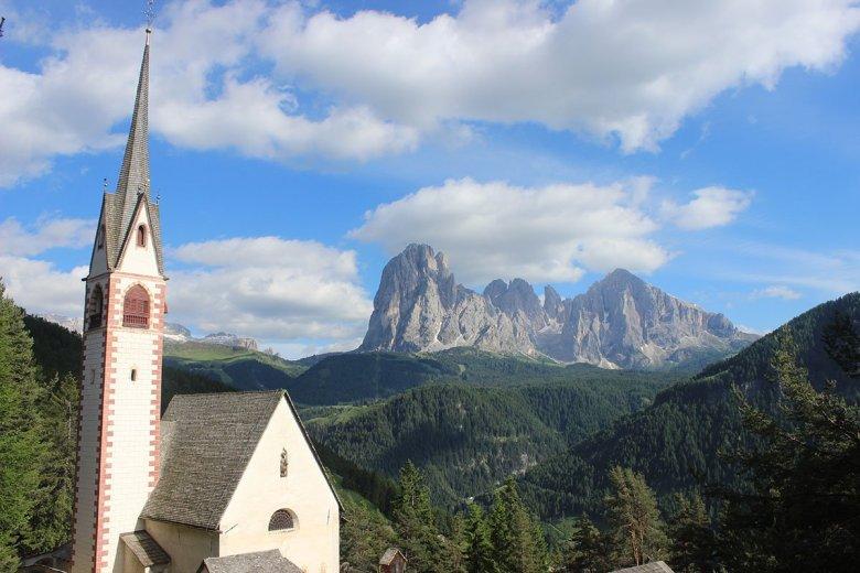 San Giacomo Church Dolomites Italy