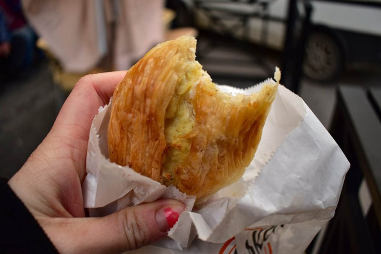 The pastizzi at Serkin Crystal Palace is famed for being the best in Malta