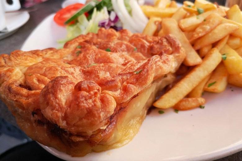 Lampuki pie at Tepie's Coffee House, Victoria, Gozo