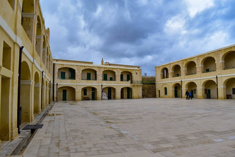 The National War Museum in Valletta covers 7,000 years of Maltese history