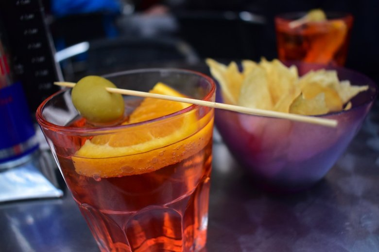 We enjoyed an aperol spritz or two in the evenings at Campo Santa Margherita