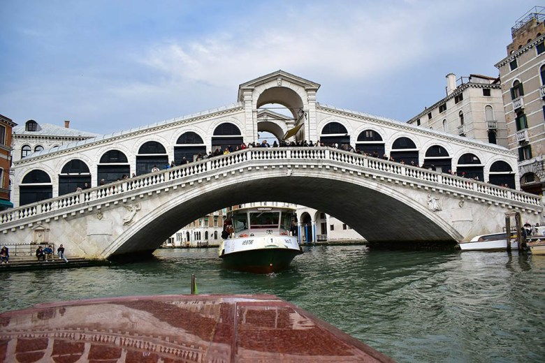The Grand Canal boat tour is the perfect way to end a day of sightseeing in Venice
