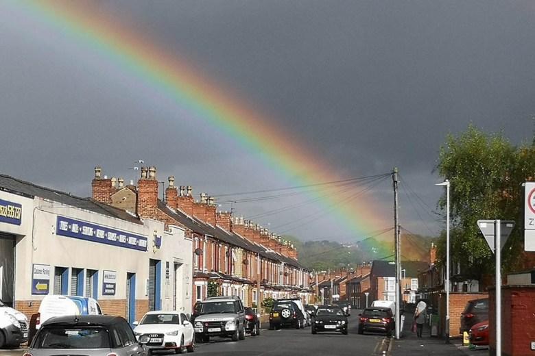 Lincoln rainbow
