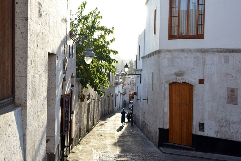 Exploring the old San Lázaro neighbourhood is one of the best things to do in Arequipa