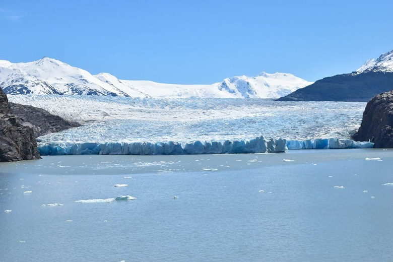 Grey Glacier Torres Del Paine National Park Chile