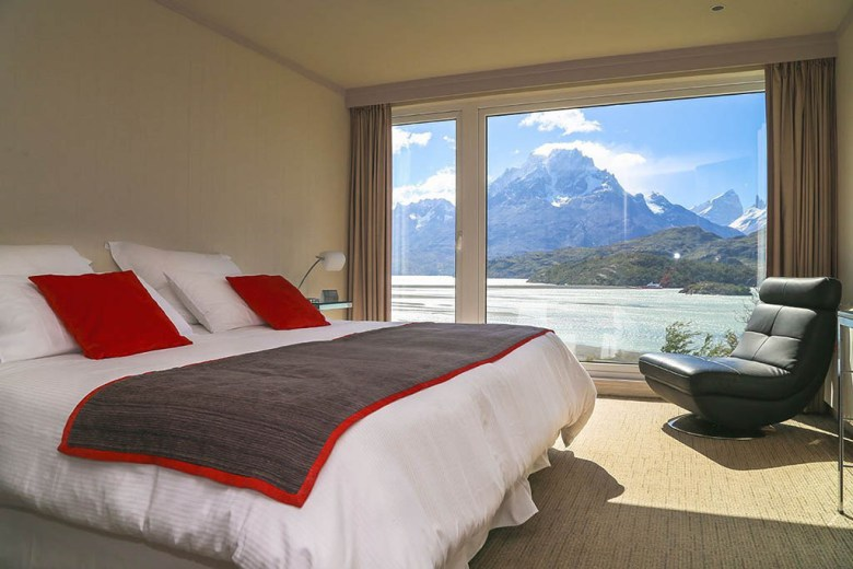 Hotel Lago Grey features stunning lakeview rooms offers excursions to the iconic Grey Glacier