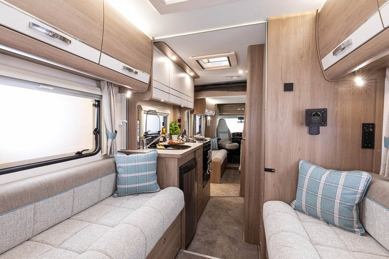 The family has been loaned a motorhome for the first year of the adventure
