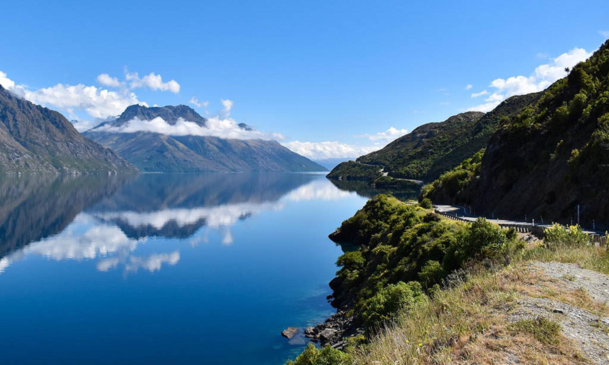 New Zealand scenic road trip Fjordlands