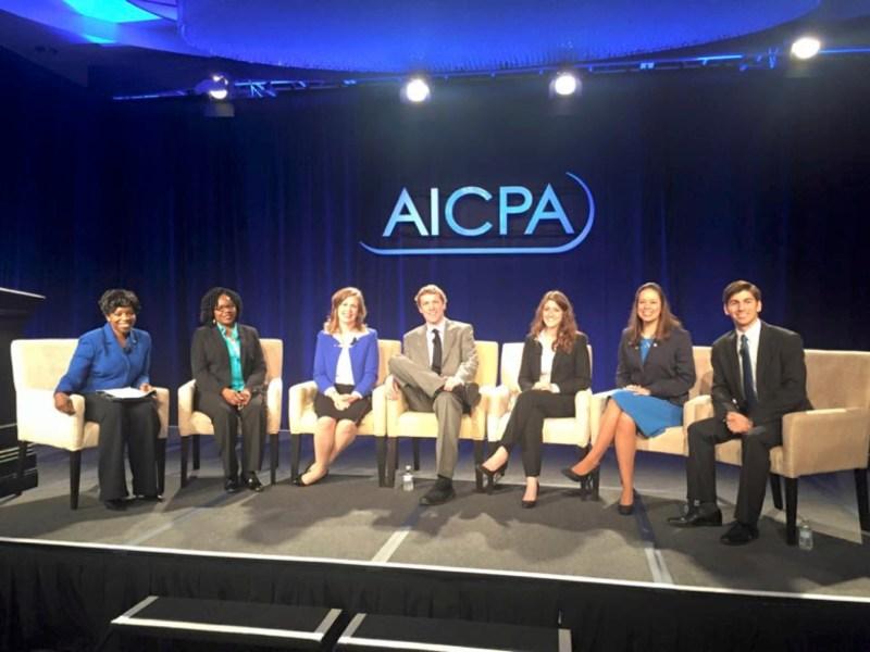 Liz Pittelkow AICPA Panel