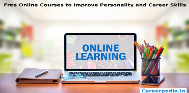 Free Online Courses to Improve Personality and Career Skills