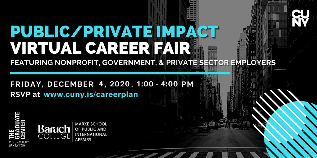2020 Public/Private Impact Virtual Career Fair