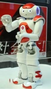 人型ロボット「NAO」