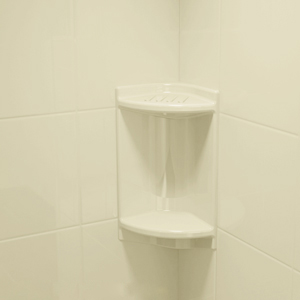 shelves and soap dishes bath fitter