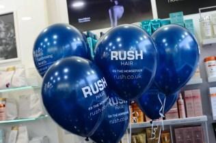 Rush Bristol blue balloons