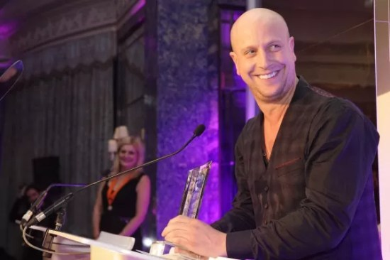 Andy awarded British Fellowship Hairdresser of the Year