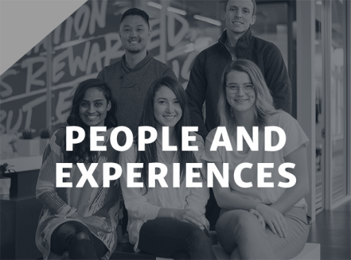 PEOPLE & EXPERIENCES