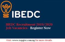 ibedc recruitment