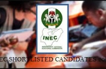 Inec shortlisted candidates