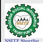 nsitf shortlisted candidates