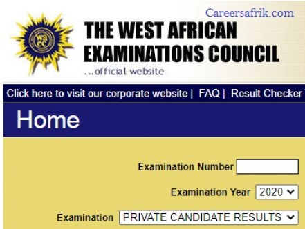 check waec result online