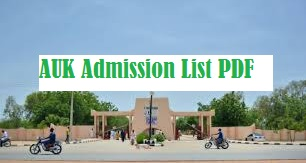 al-qalam university admission list