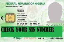 check nin number