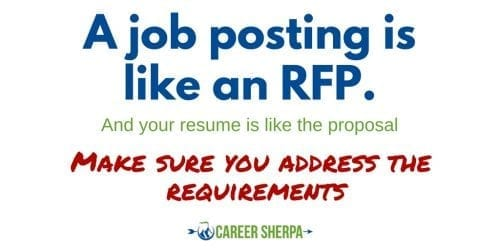 resume is proposal