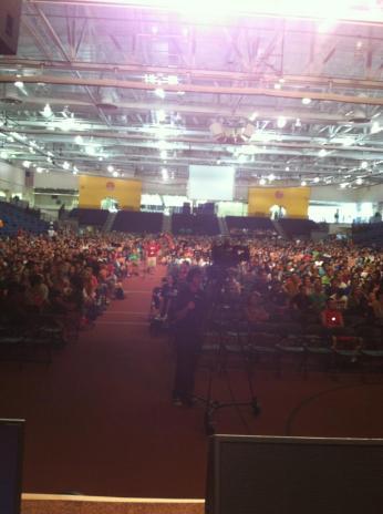 RIT freshman audience