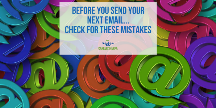 Before You Send Your Next Email