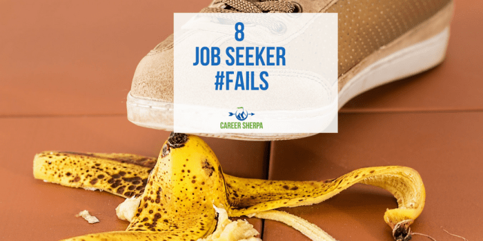 Job Seeker Fails