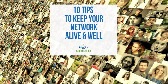 Network Alive and Well