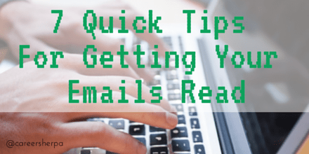 tips to get your email read