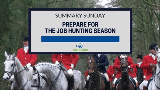 prepare for job hunting season