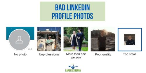 Bad LinkedIn Profile Photos