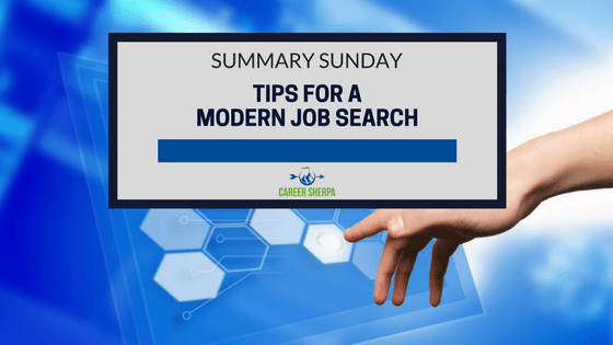 tips for a modern job search - Job Searching Tips