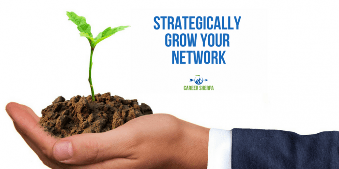 Strategically Grow your Network