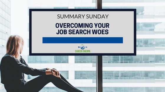 overcome job search woes