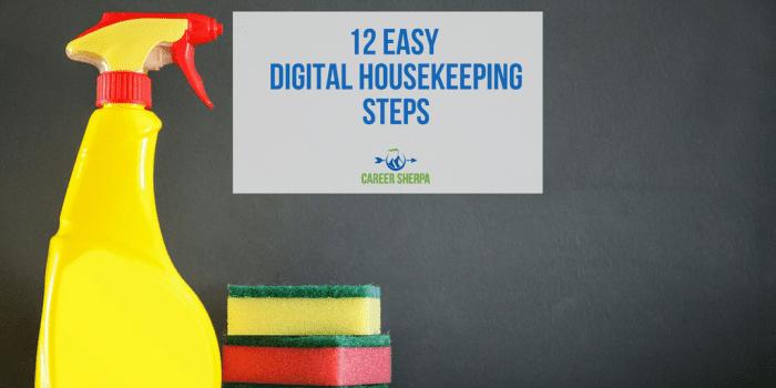 digital housekeeping